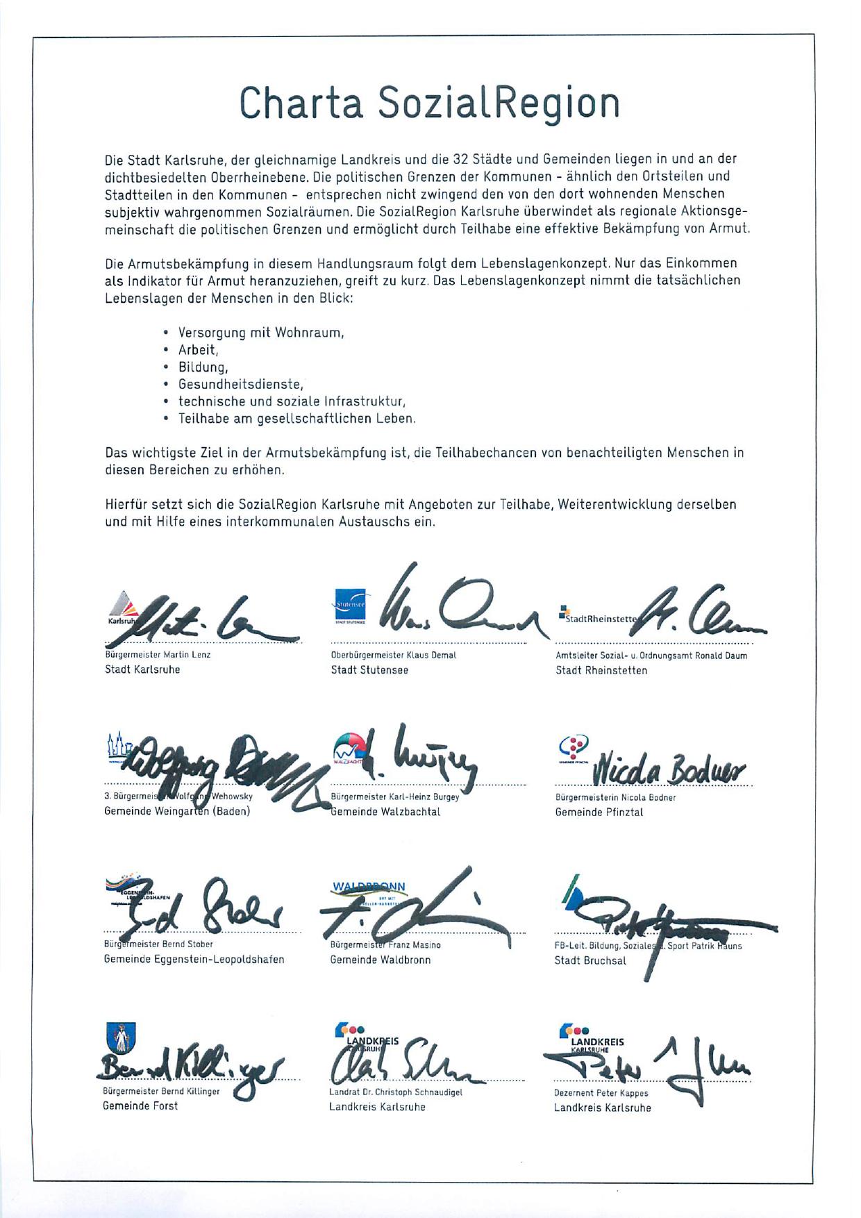 Charta_SozialRegion_2018_unterschrieben